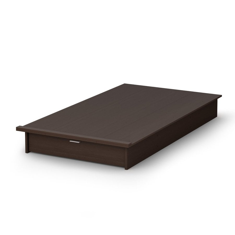 South Shore Furniture Step One Chocolate Twin Platform Bed