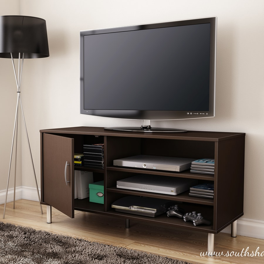 South Shore Furniture Renta Chocolate Rectangular Television Cabinet