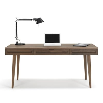Series Walnut Computer Desk At Lowes