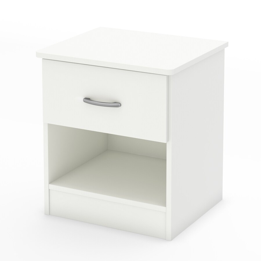 South Shore Furniture Libra Pure White Nightstand