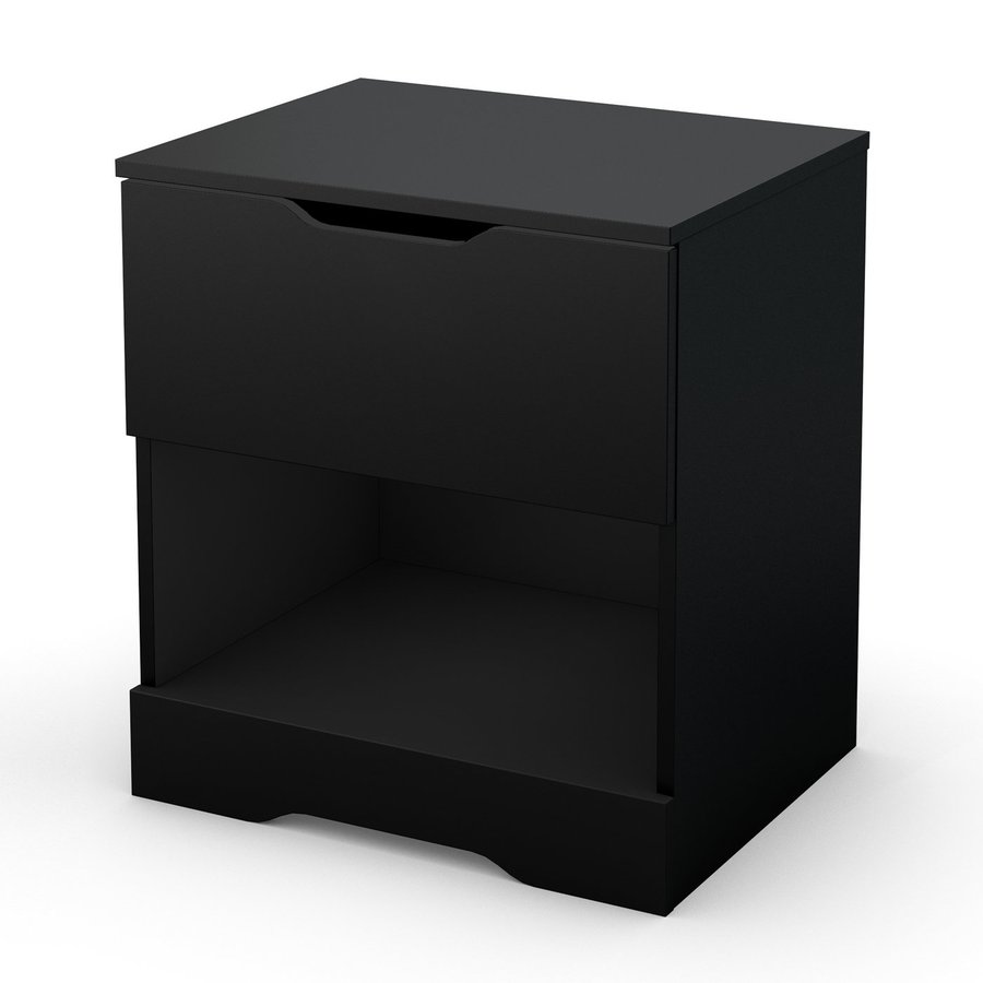 South Shore Furniture Holland Pure Black Nightstand