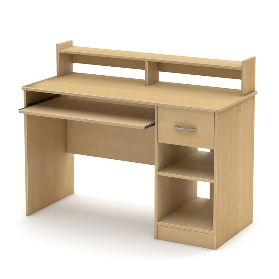 South Shore Furniture Axess Natural Maple Computer Desk