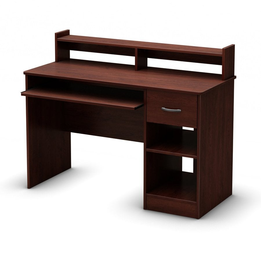 South S Furniture As Contemporary Royal Cherry Computer Desk