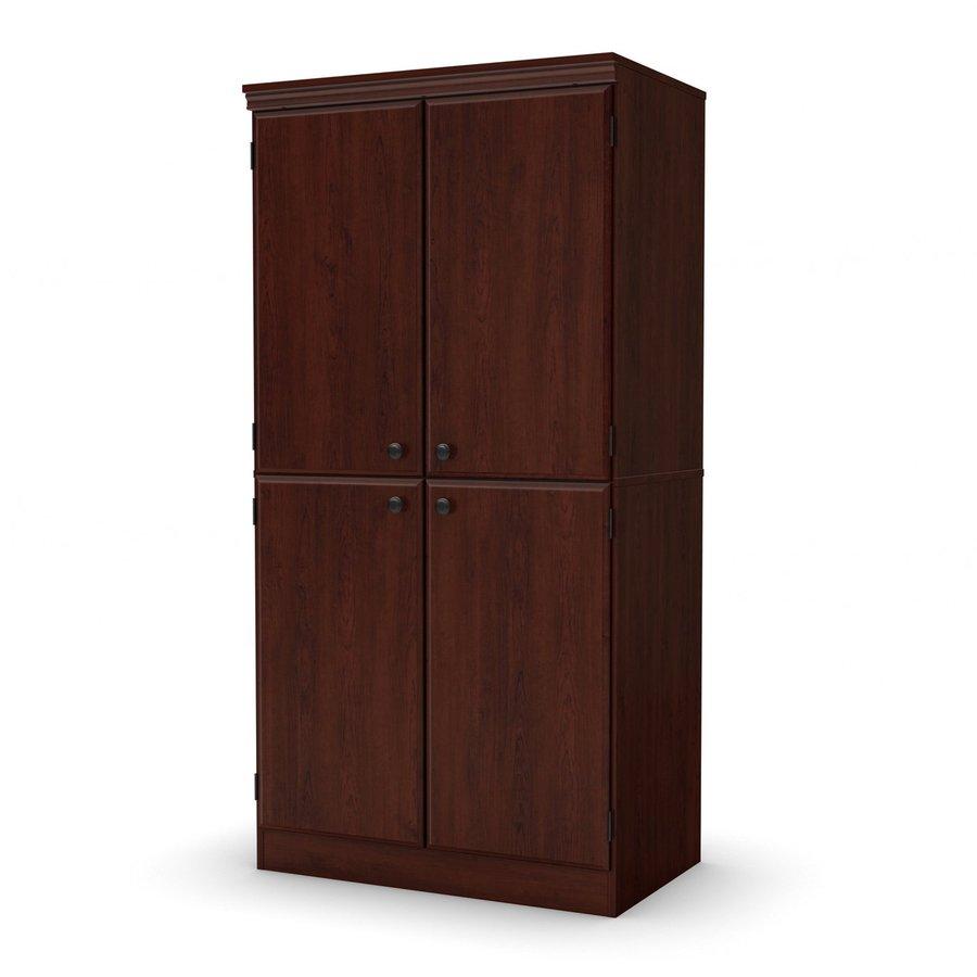 Cherry Royal Kitchen Cupboards: Shop South Shore Furniture Morgan Royal Cherry 4-Shelf