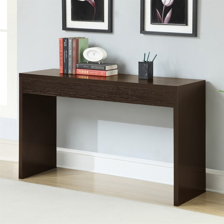 shop convenience concepts northfield espresso composite modern console table at. Black Bedroom Furniture Sets. Home Design Ideas