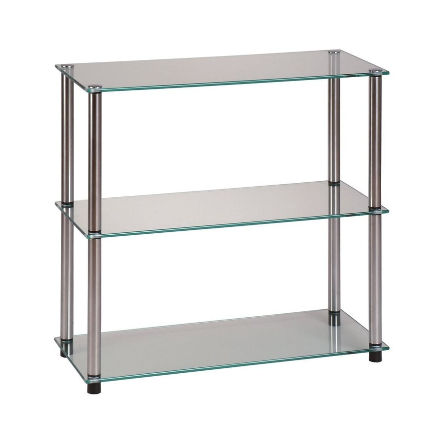 Convenience Concepts 26.5-in H x 28-in W x 11.88-in D Freestanding Shelving Unit
