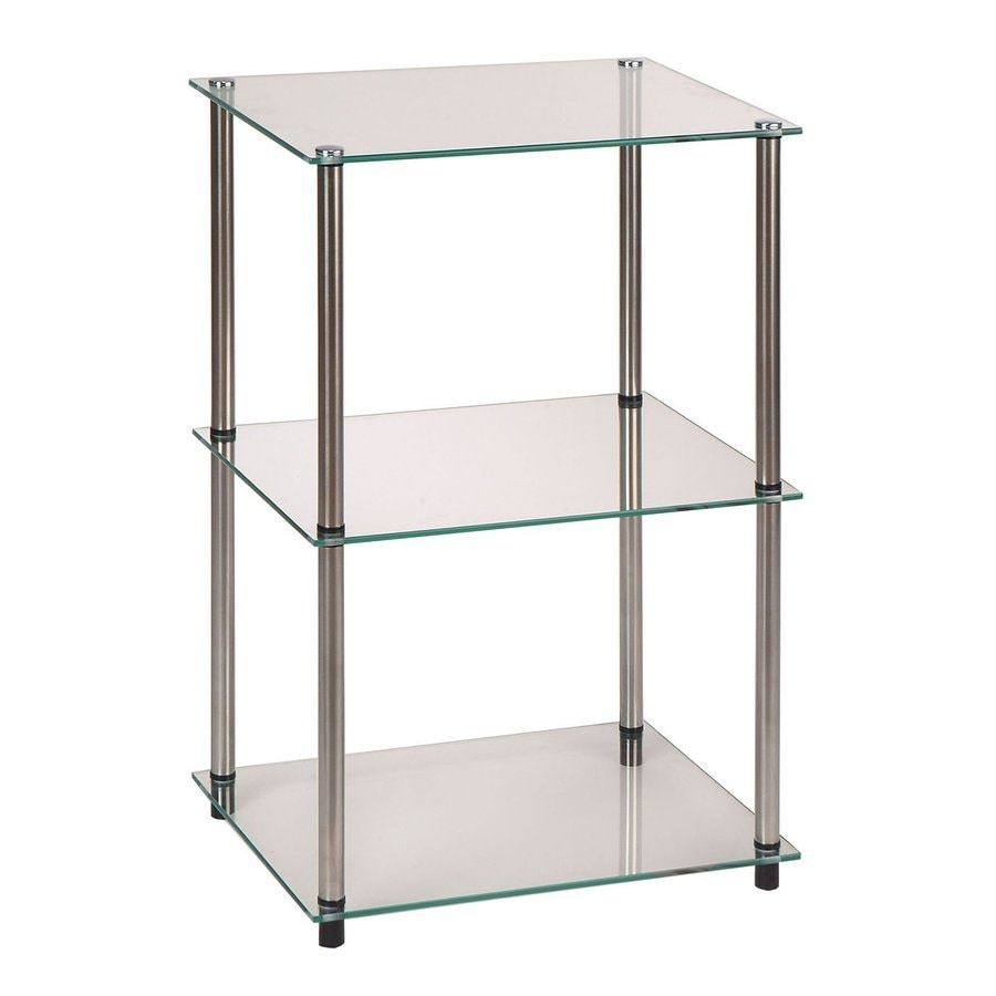 Convenience Concepts 26.5-in H x 18-in W x 14-in D Freestanding Shelving Unit