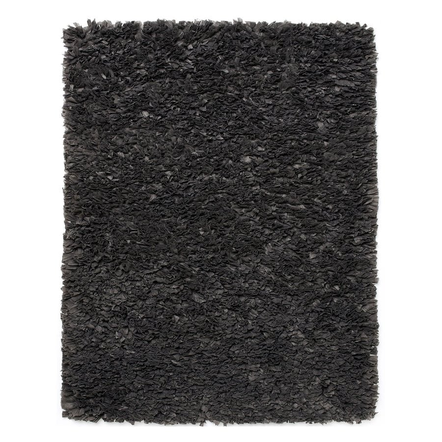 Anji Mountain Paper Shag Rectangular Indoor Shag Oriental Area Rug (Common: 4 x 6; Actual: 4-ft W x 6-ft L)