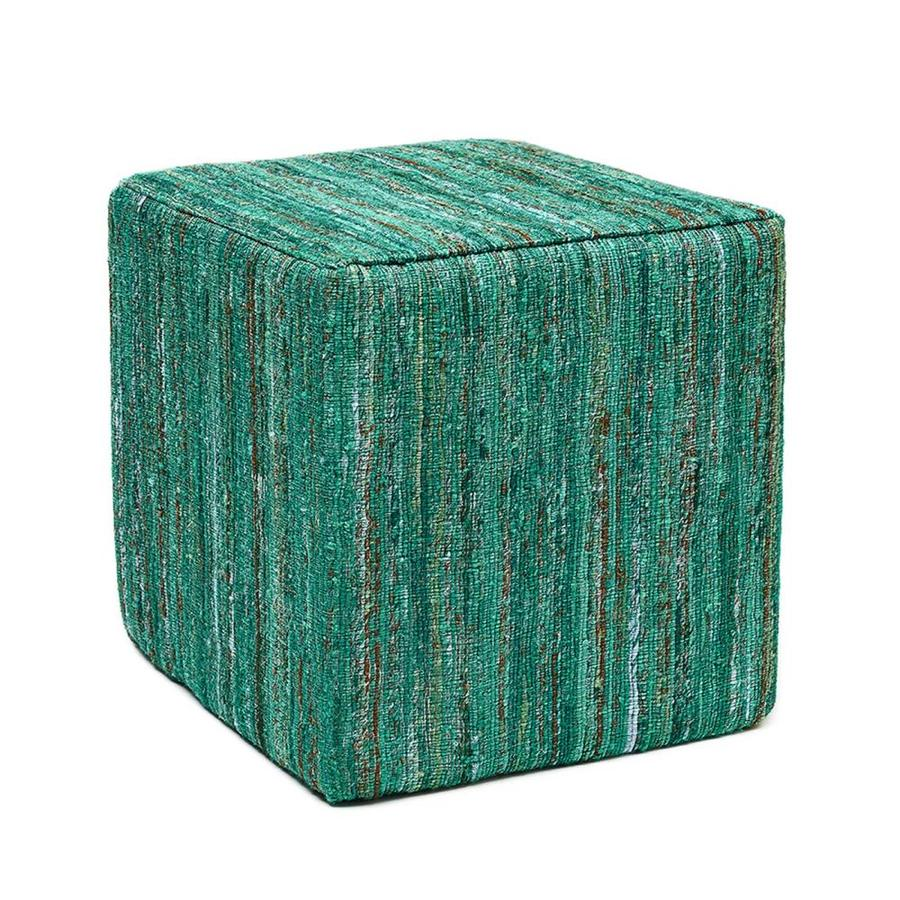 shop anji mountain cosmos modern emerald ottoman at. Black Bedroom Furniture Sets. Home Design Ideas