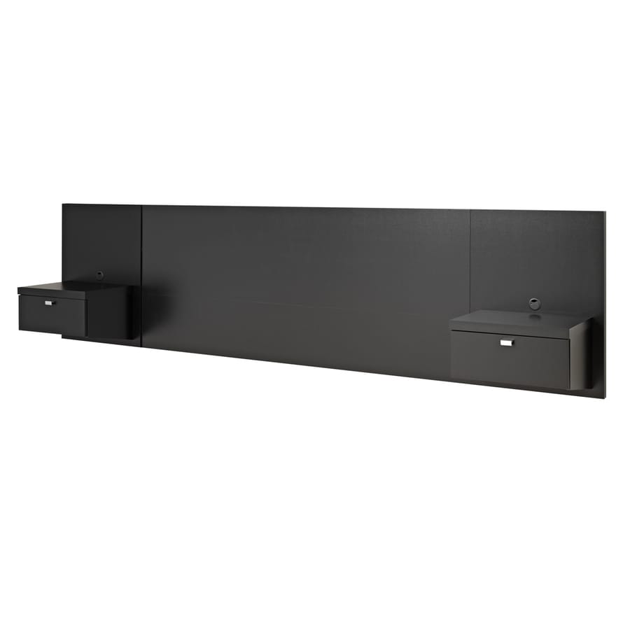 Prepac Furniture Series 9 Black King Headboard