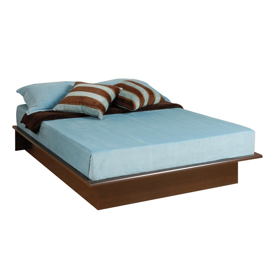 Prepac Furniture Espresso Full Platform Bed