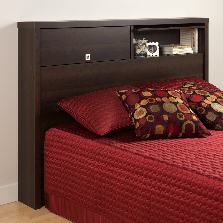 Prepac Furniture Series 9 Espresso Full/Queen Headboard