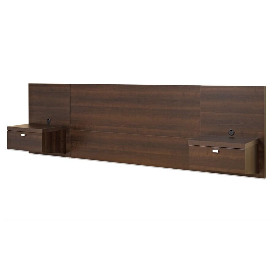 Prepac Furniture Series 9 Espresso Queen Headboard
