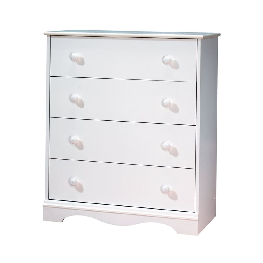 South Shore Furniture Heavenly Pure White Standard Chest