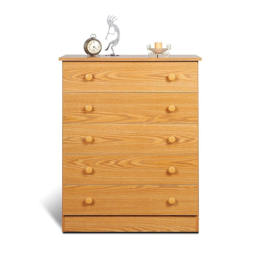 Prepac Furniture Edenvale Oak Standard Chest