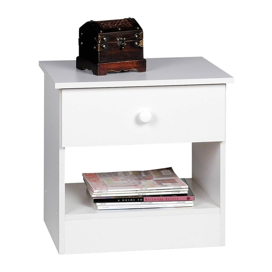 Prepac Furniture Edenvale White Nightstand
