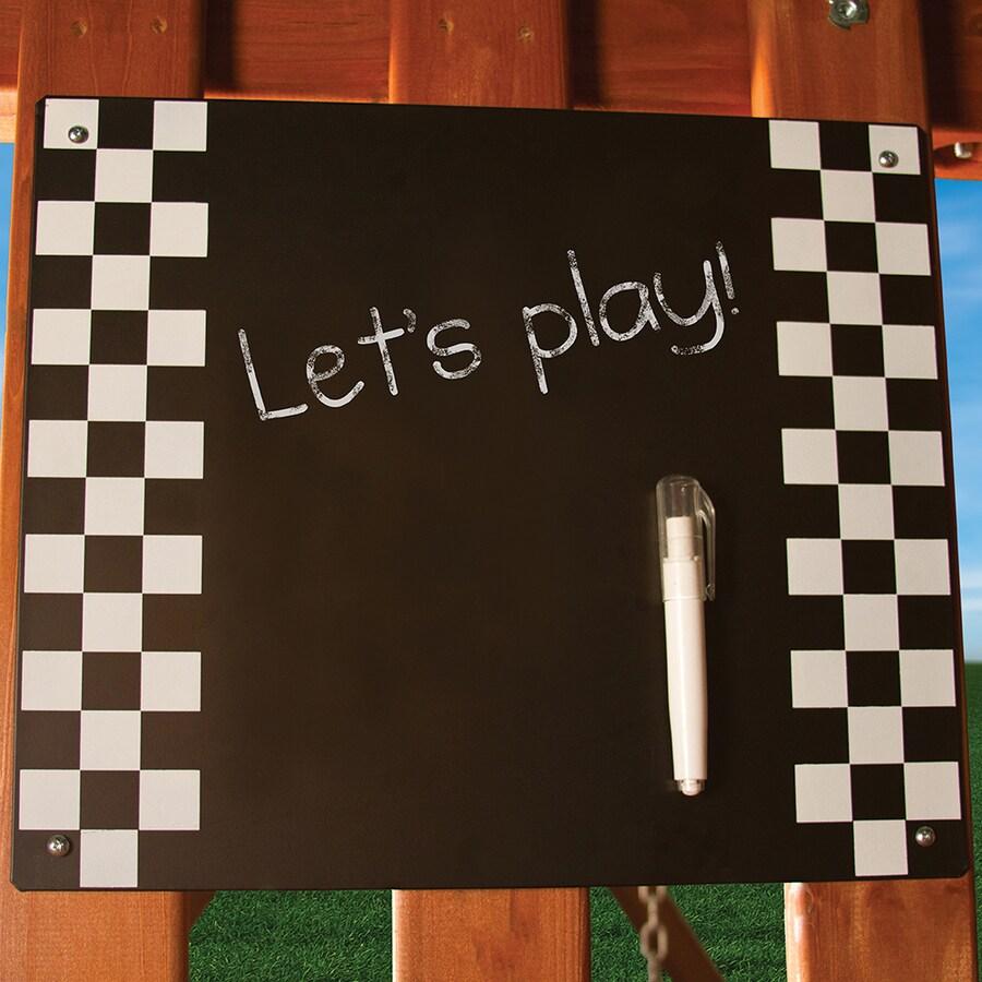 Gorilla Playsets Black Chalkboard
