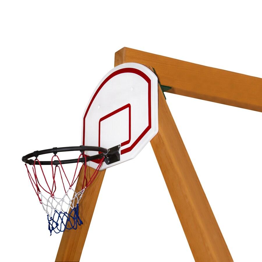 Gorilla Playsets White Basketball Hoop