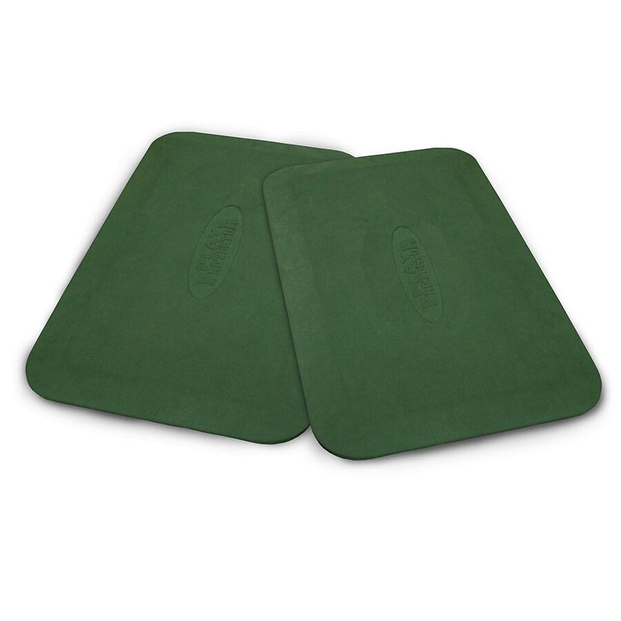 Gorilla Playsets Set of 2 Green Rubber Mats