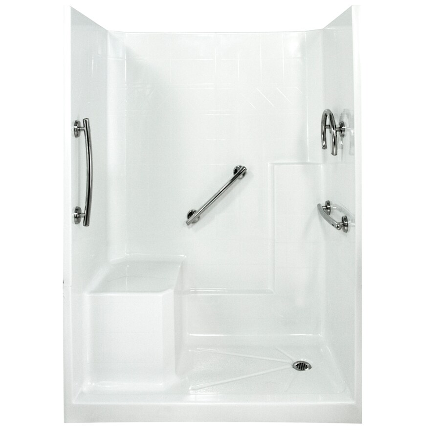 Shop Ella\'s Bubbles Shower Wall Surround Side and Back Panels with ...