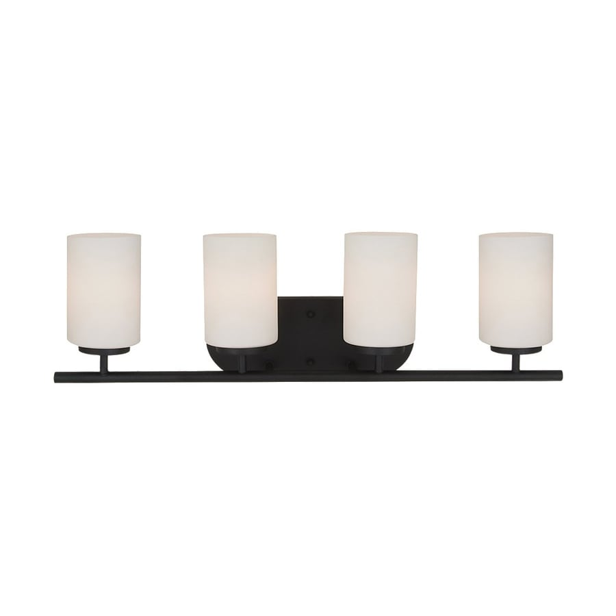 Sea Gull Lighting Oslo 4-Light Blacksmith Vanity Light