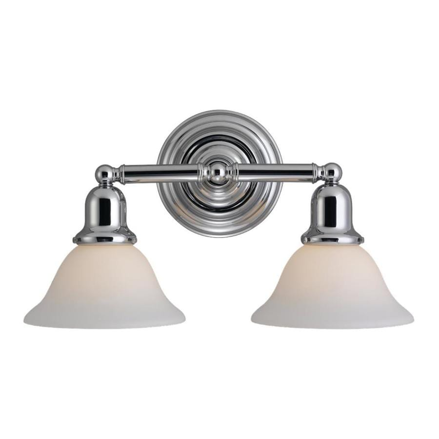 Sea Gull Lighting Sussex 2-Light Chrome Vanity Light