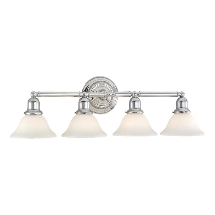 Sea Gull Lighting Sussex 4-Light Chrome Bell Vanity Light
