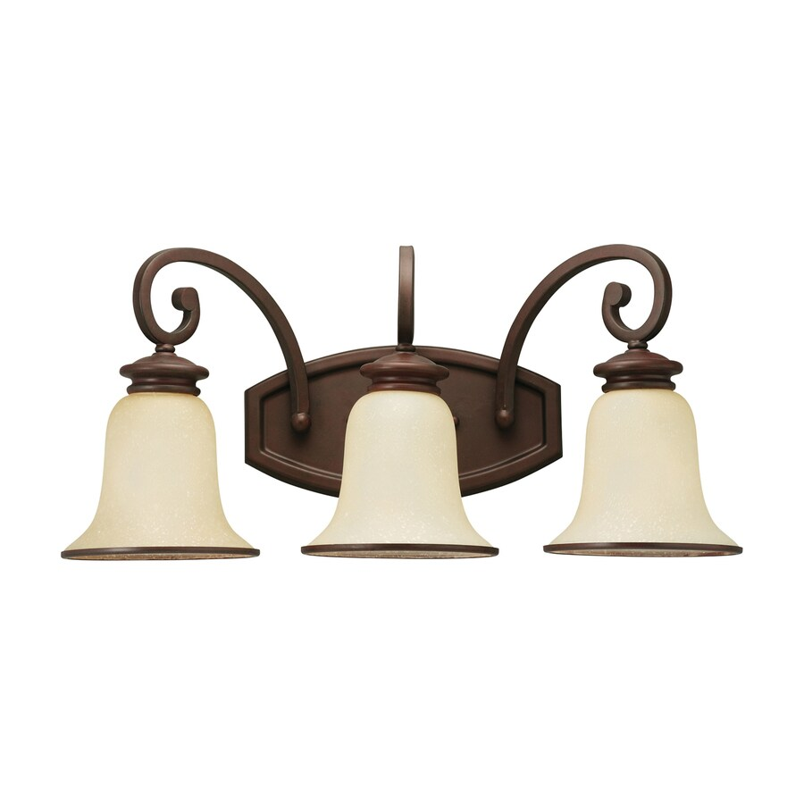 Shop Sea Gull Lighting 3 Light Acadia Misted Bronze