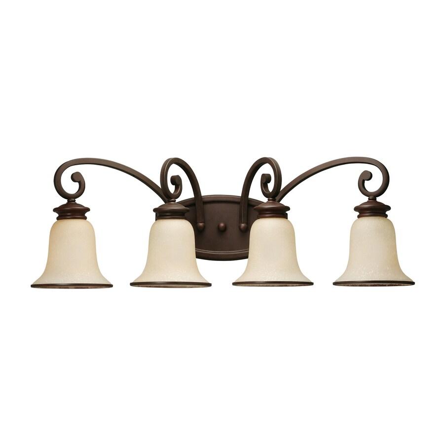 Shop Sea Gull Lighting 4-Light Acadia Misted Bronze ...