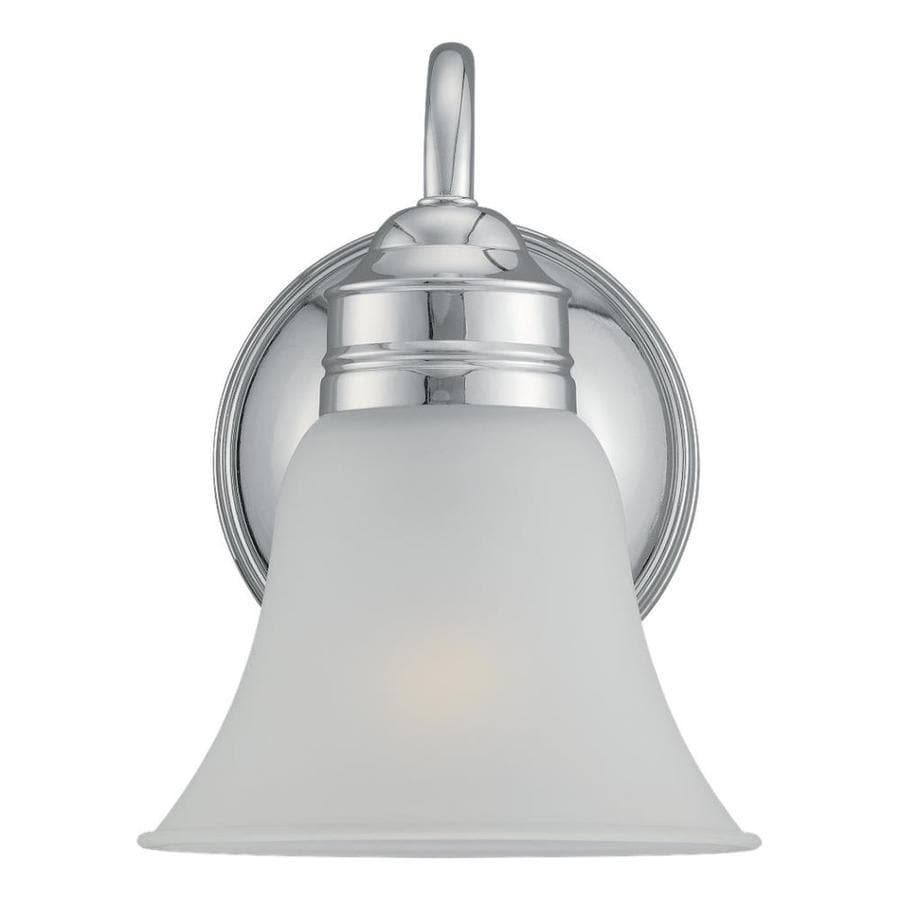 Sea Gull Lighting Gladstone 1-Light Chrome Bell Vanity Light