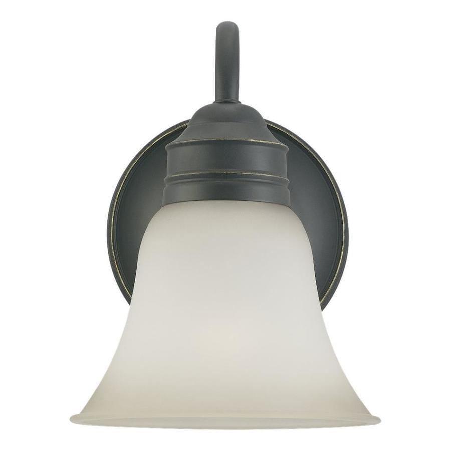 Sea Gull Lighting Gladstone 1-Light Heirloom Bronze Bell Vanity Light