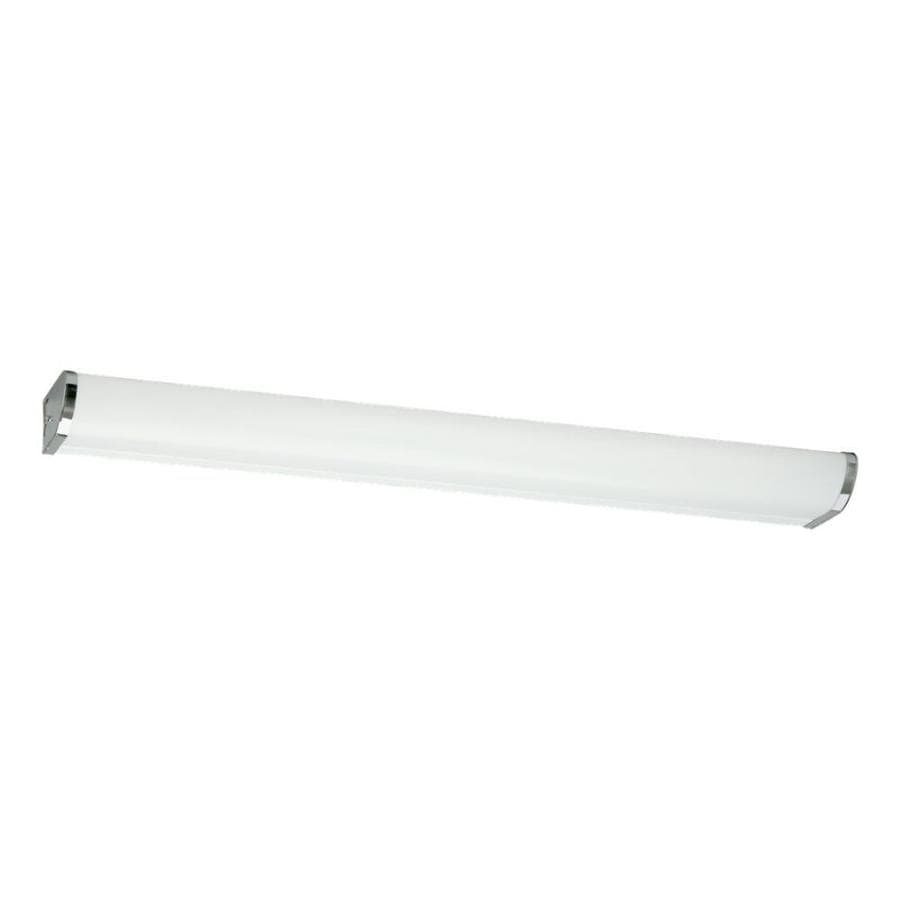 Shop Sea Gull Lighting 1-Light Chrome Cylinder Vanity Light Bar at Lowes.com