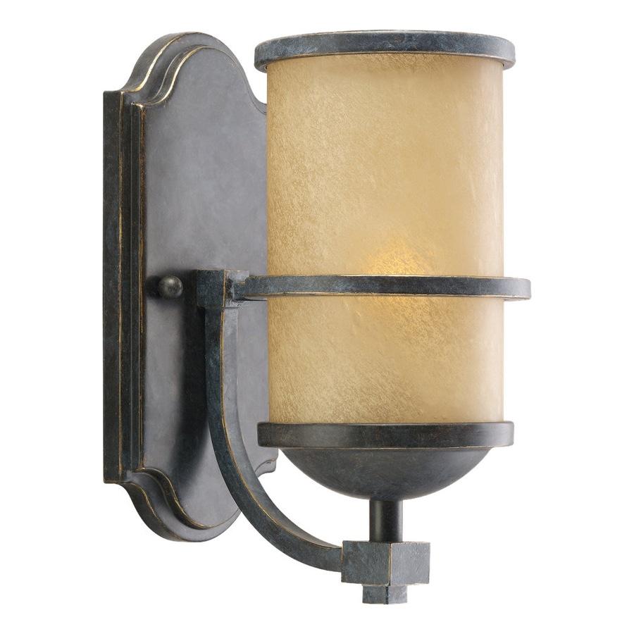 Sea Gull Lighting Roslyn 1-Light Flemish Bronze Cylinder Vanity Light