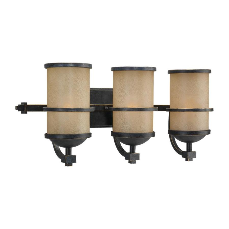 Sea Gull Lighting Roslyn 3-Light Flemish Bronze Vanity Light