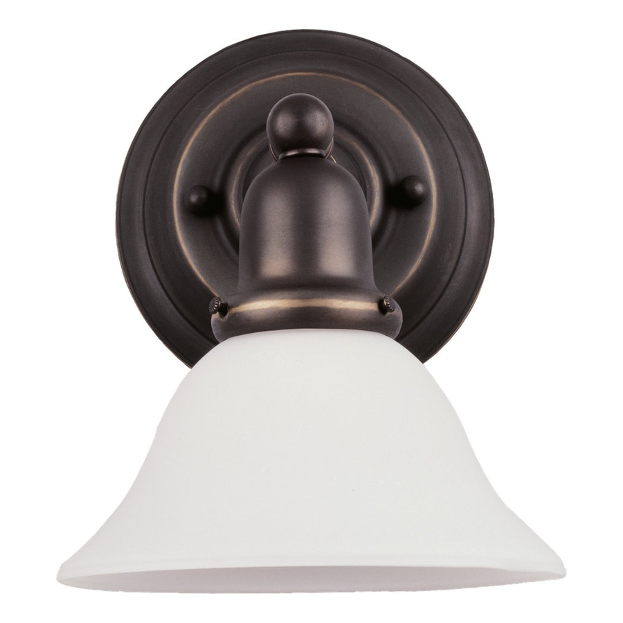 Sea Gull Lighting Sussex 1-Light Heirloom Bronze Vanity Light