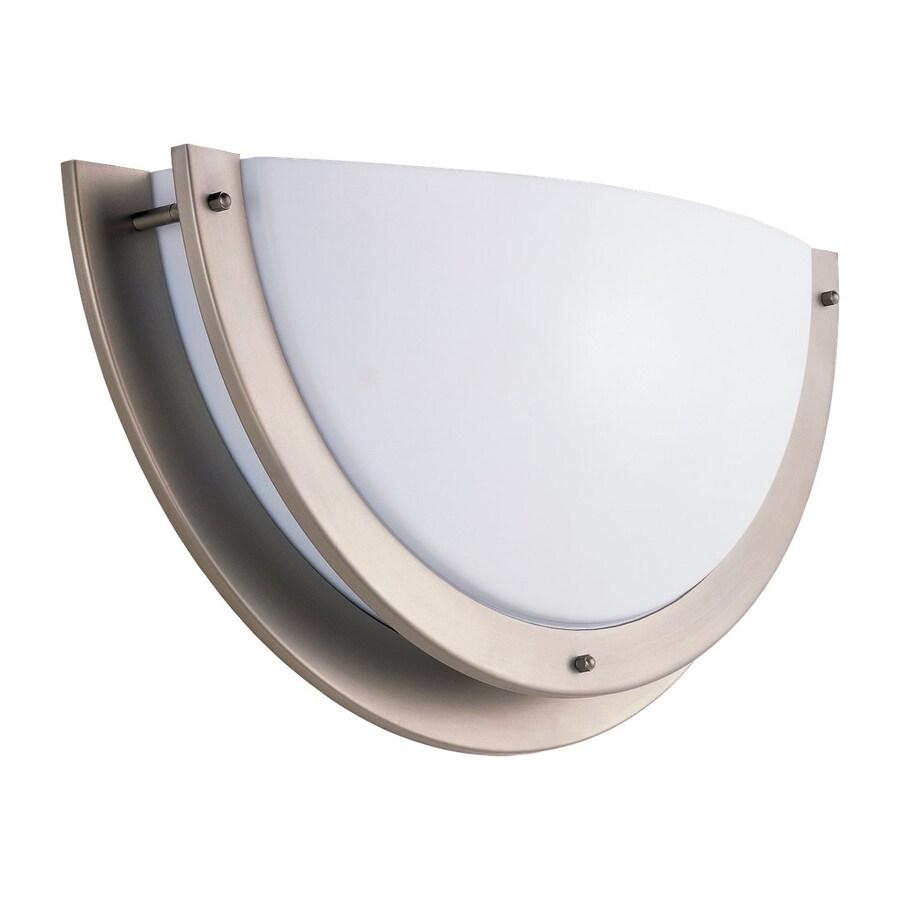 Sea Gull Lighting Nexus 1-Light Brushed Nickel Bowl Vanity Light