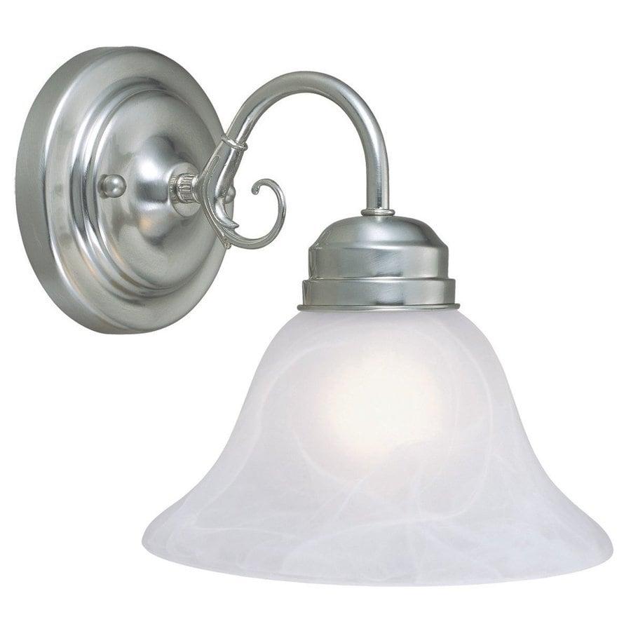 Design House Millbridge 1-Light Satin Nickel Bell Vanity Light