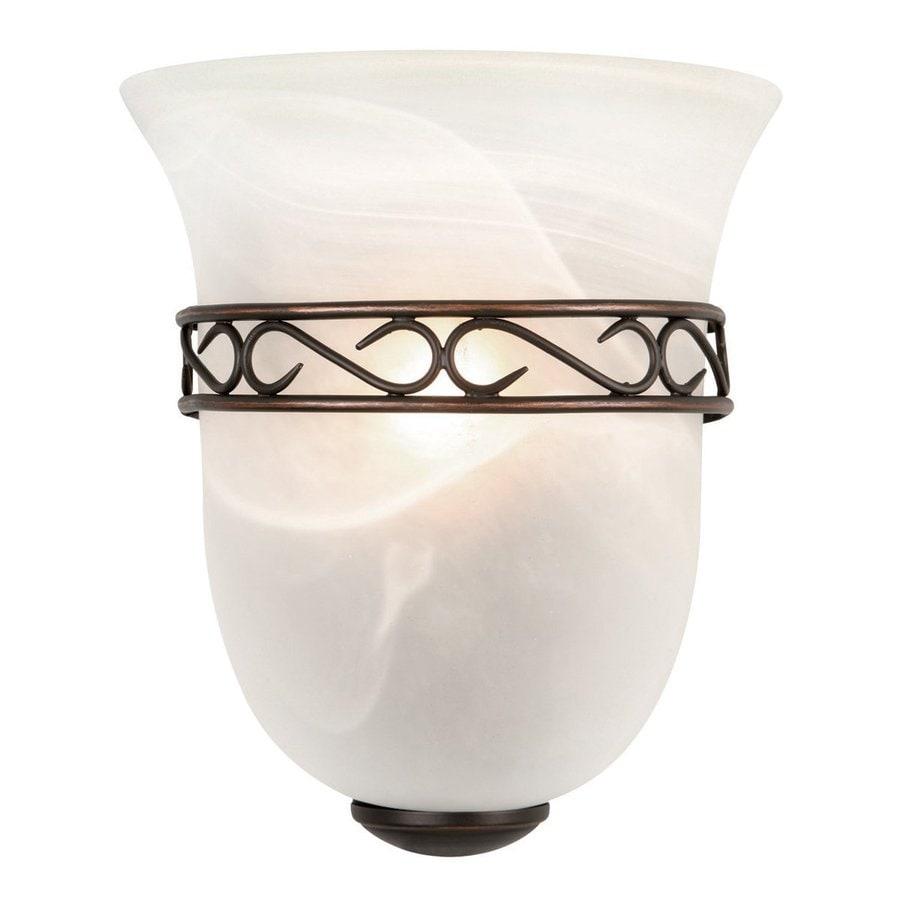 Design House Marlowe 1-Light 9.25-in Oil-Rubbed bronze Urn Vanity Light