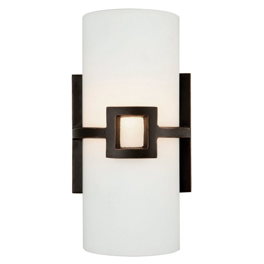 Design House Monroe 1-Light 11-in Oil-Rubbed Bronze Cylinder Vanity Light