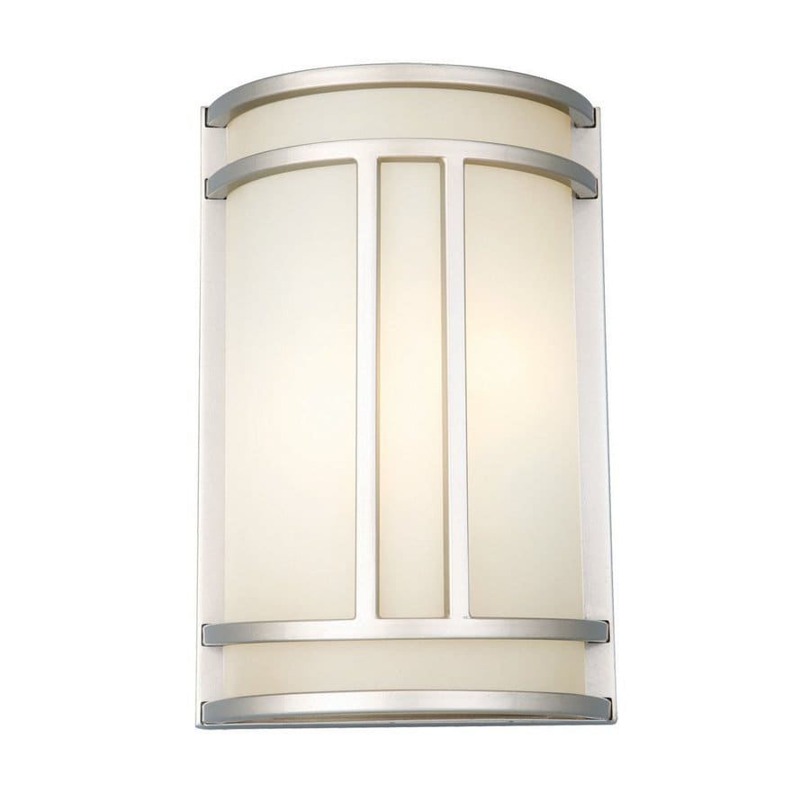 Design House Easton 1-Light Silver Cylinder Vanity Light