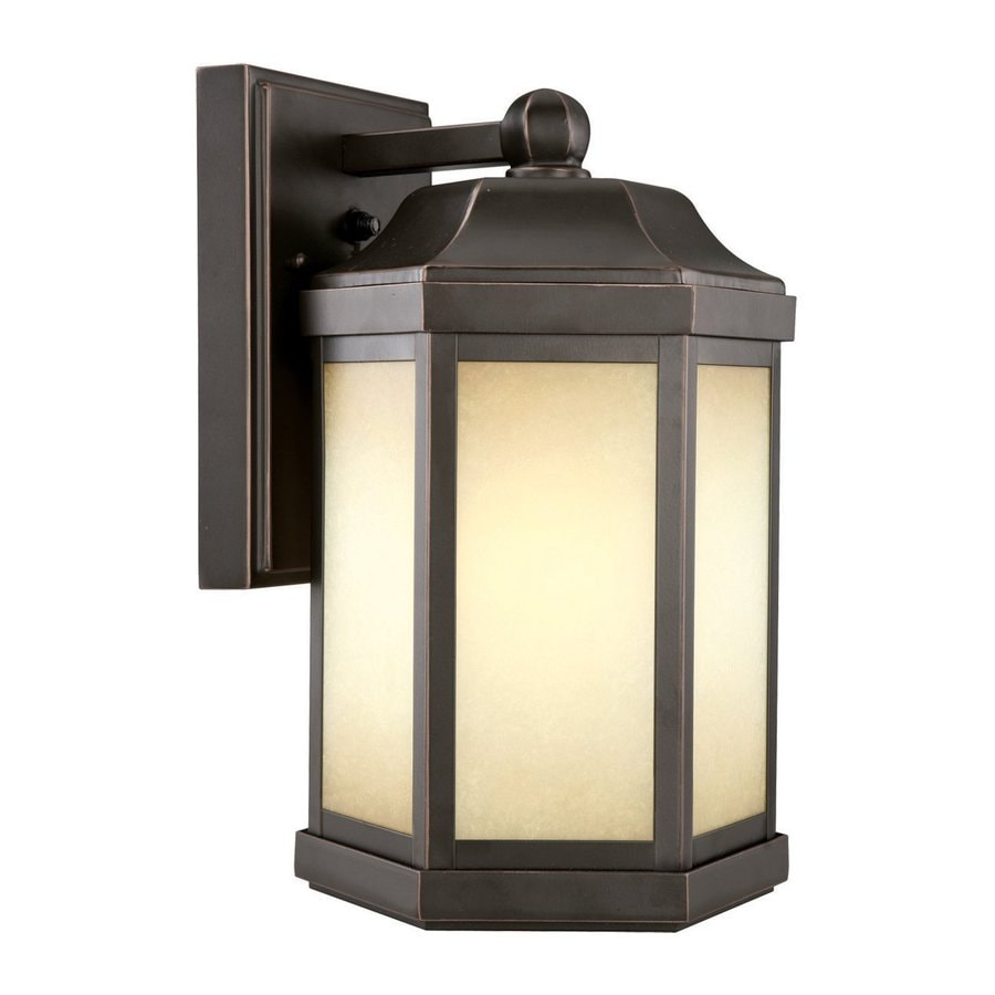 Design House Bennet 13-in H Oil-Rubbed Bronze Outdoor Wall Light