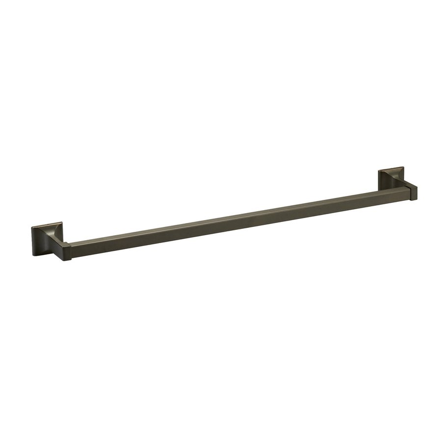 Design House Millbridge Oil Rubbed Bronze Single Towel Bar (Common: 24; Actual: 25.81-in)