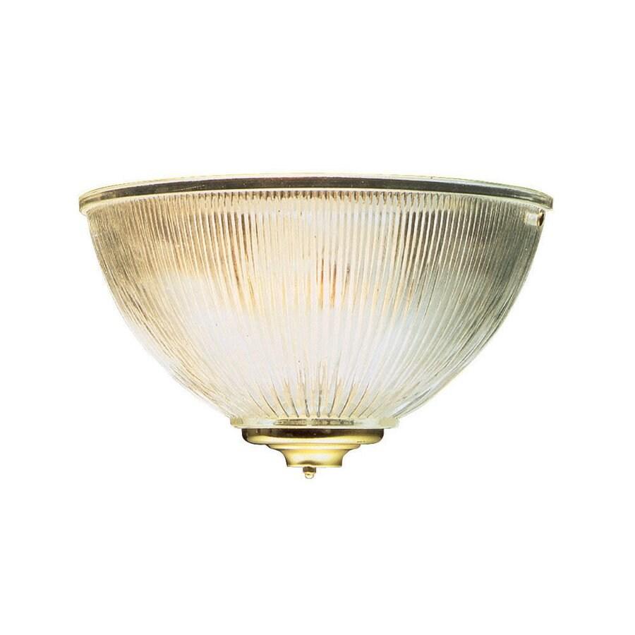 Design House Millbridge 9.625-in W 1-Light Polished Brass Pocket Wall Sconce