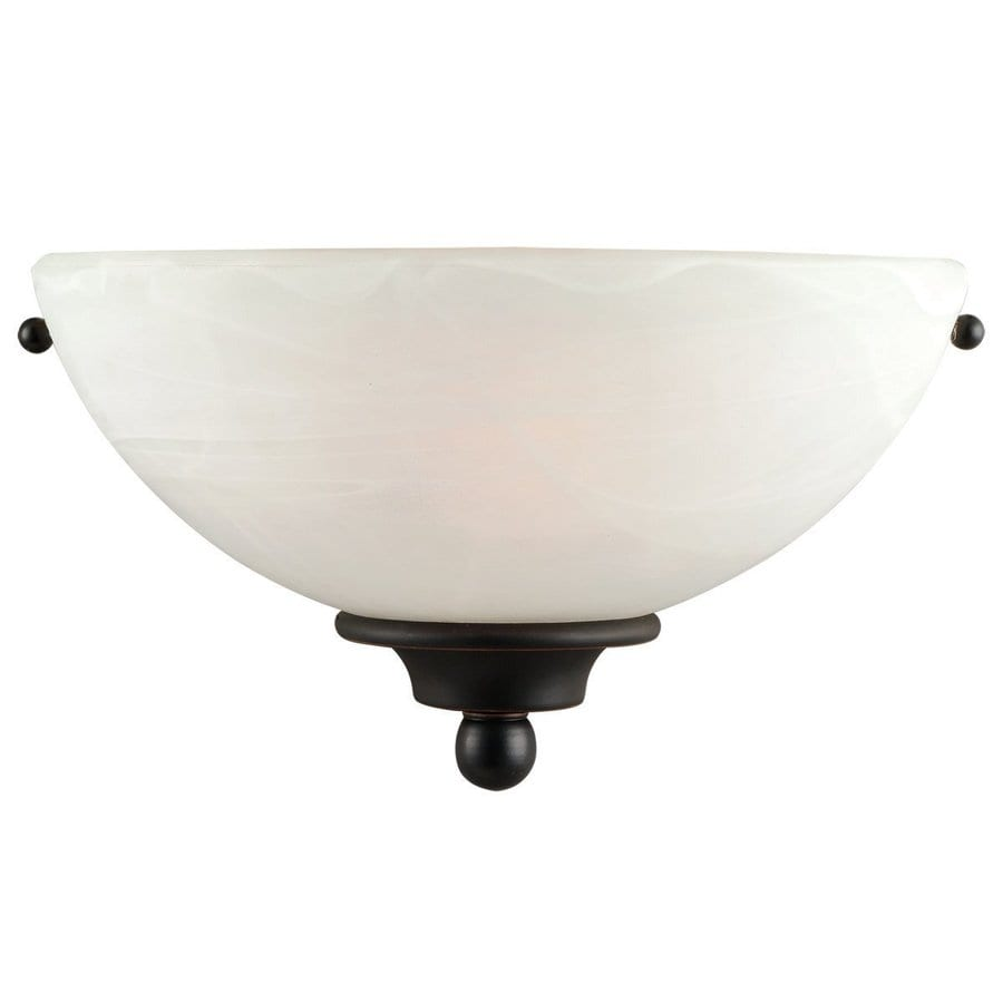 Design House Millbridge 10.5-in W 1-Light Oil-Rubbed Bronze Pocket Wall Sconce