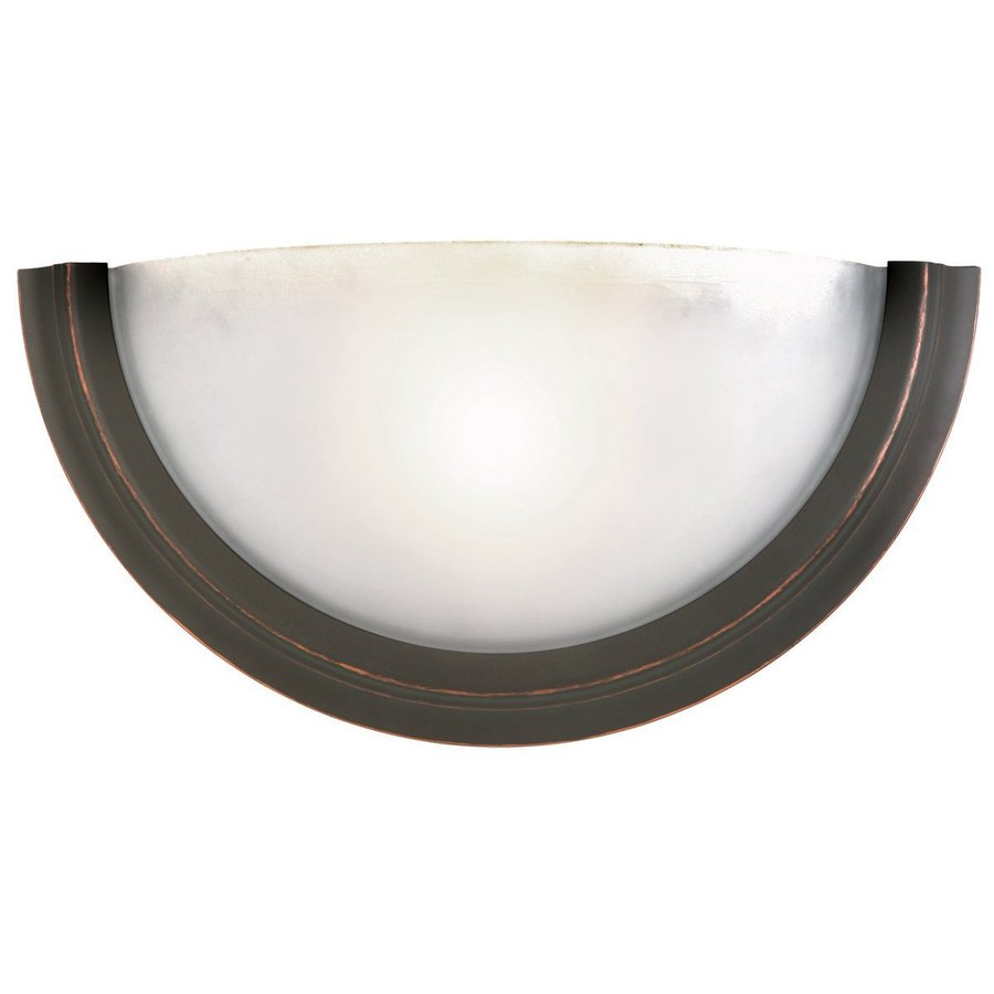 Design House Fairfax 11.25-in W 1-Light Oil Rubbed Bronze Pocket Wall Sconce