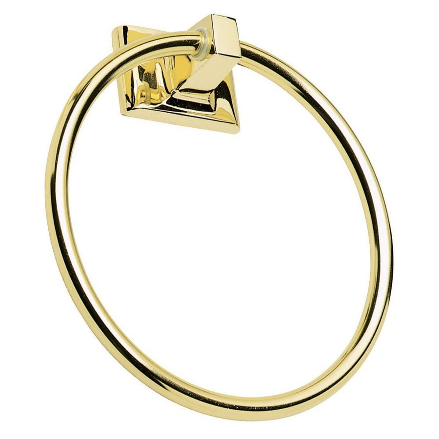 Design House Millbridge Polished Brass Wall Mount Towel Ring
