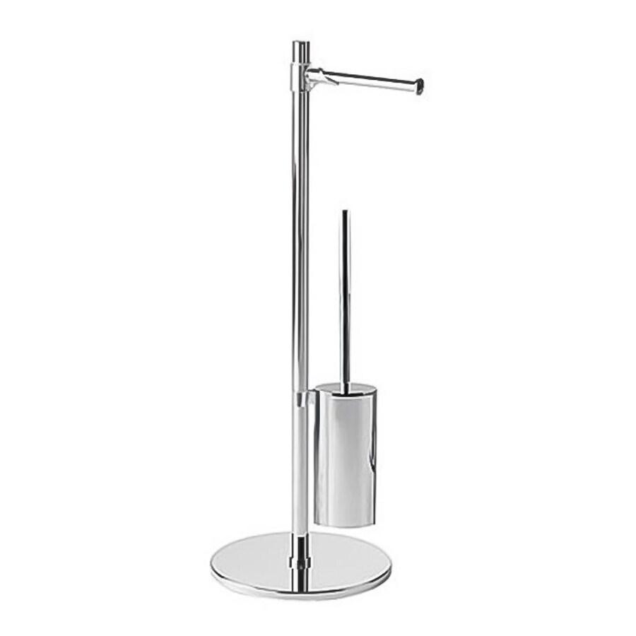 Nameeks Virginia Chrome Stainless Steel Toilet Brush Holder