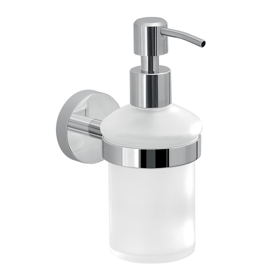 Shop Nameeks Eros White Soap And Lotion Dispenser At Lowes Com