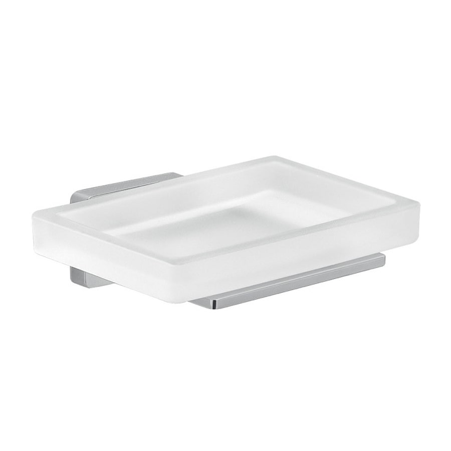 Nameeks Atena Chrome Glass Soap Dish