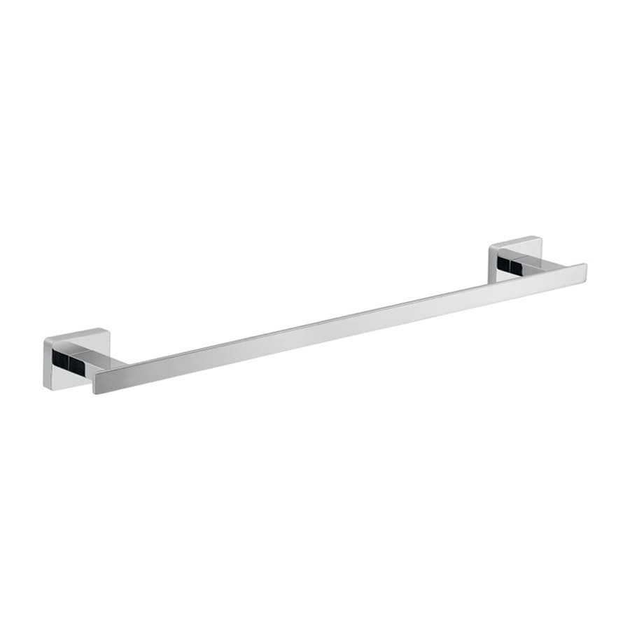Nameeks Atena Chrome Single Towel Bar (Common: 17-in; Actual: 18-in)